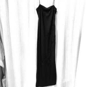 Dresses & Skirts - Beaded black gown